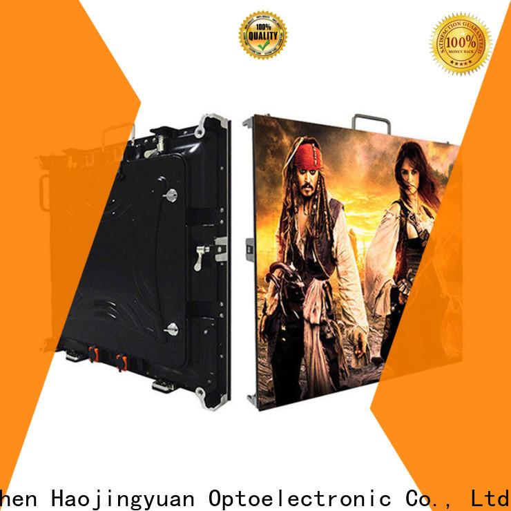 Haojingyuan New hd led screen Suppliers for sea port