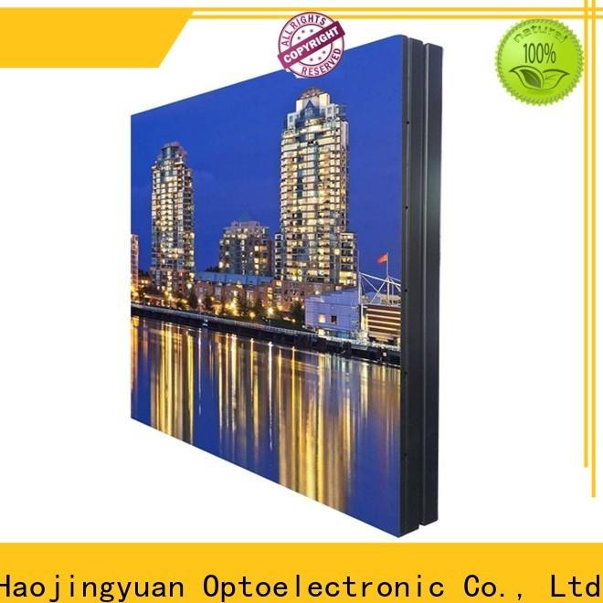 Haojingyuan indoor outdoor fixed led display Suppliers for school