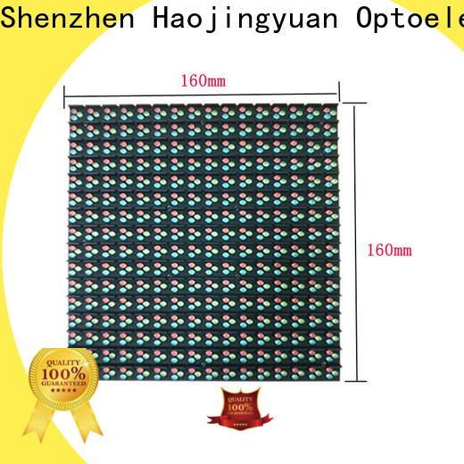 Haojingyuan full indoor fixed led screen Supply for hotels
