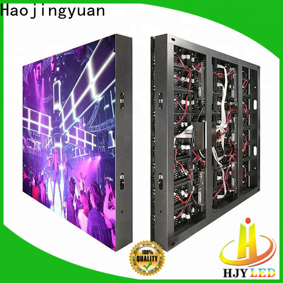 Haojingyuan module led display sign led fixed manufacturers for hotels