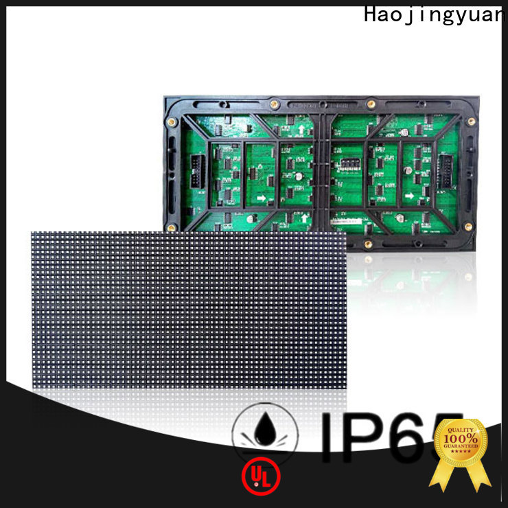 Haojingyuan display led display module Supply for cafeteria