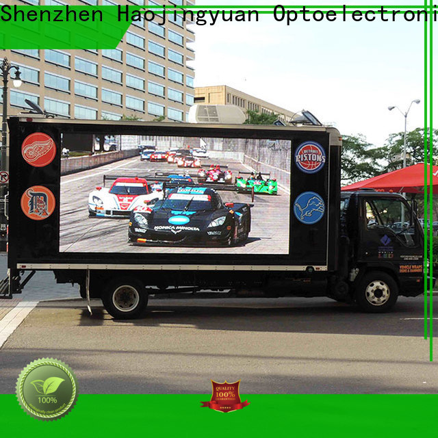 High-quality truck mobile led display led Suppliers for school