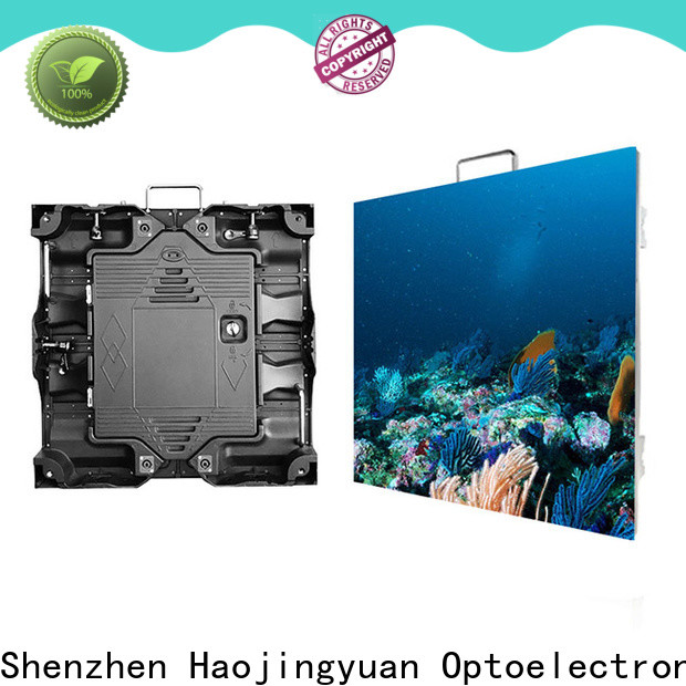 Haojingyuan definition outdoor led screen display Suppliers for sea port