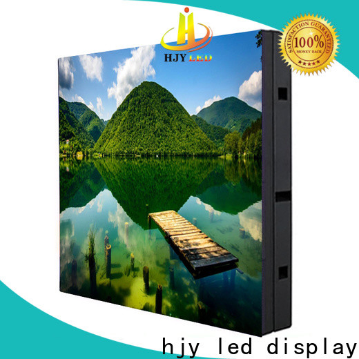 Haojingyuan Top indoor led display manufacturers for lobby