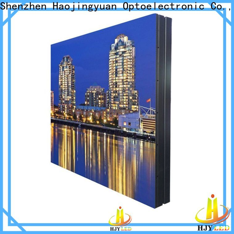 Haojingyuan New led display sign led fixed Suppliers for lobby