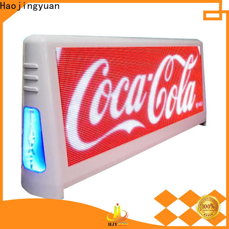 Best taxi top led display brightness Supply for wedding