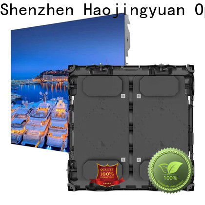 Haojingyuan Custom large stadium led display screen Supply for party