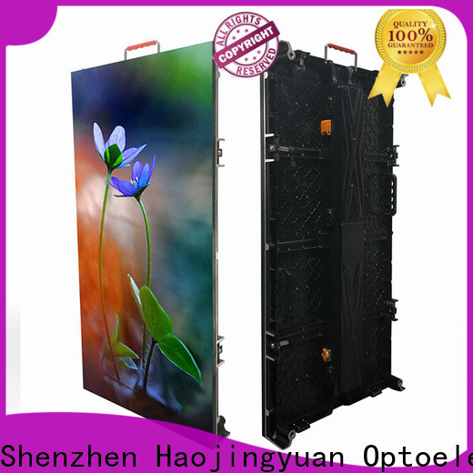 Haojingyuan video large screens for events factory for shopping mall