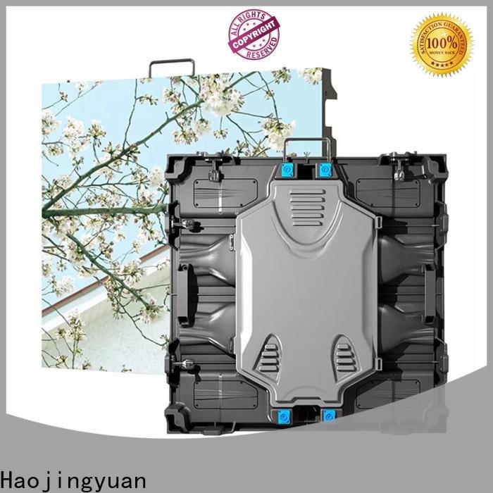 Haojingyuan Custom flex led video wall company for building