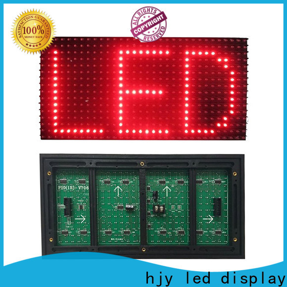 Haojingyuan Custom led module manufacturers for cafeteria