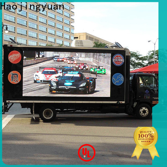 Top truck led display led Supply for birthday party
