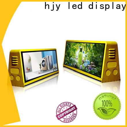 Haojingyuan Top truck mobile led display Suppliers for for house