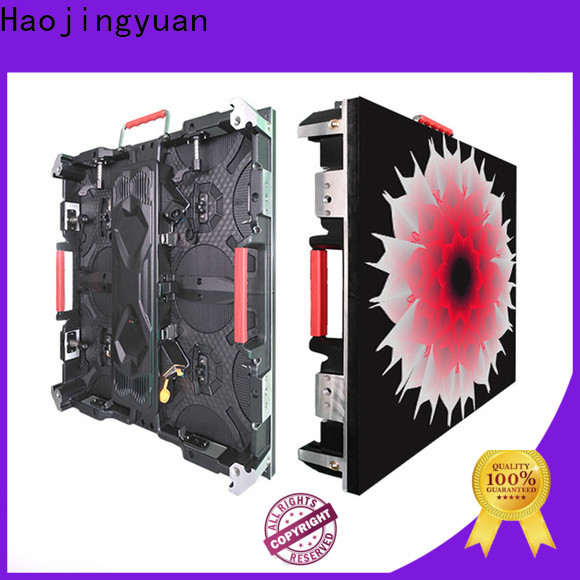 Haojingyuan High-quality indoor led video wall Supply for taxi