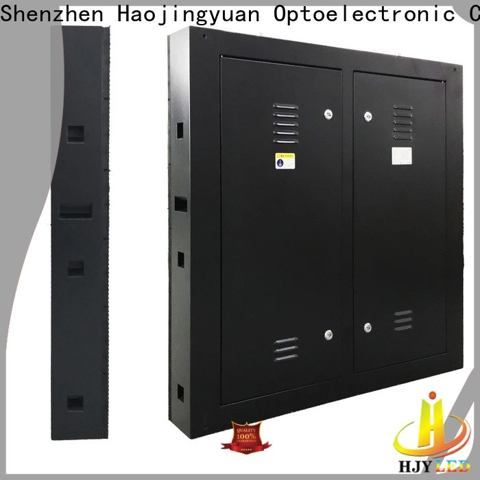 Haojingyuan Top outdoor led display Suppliers for hotels