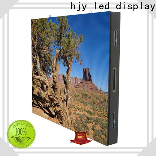 Haojingyuan High-quality indoor fixed led screen company for hotels