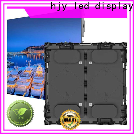 Haojingyuan High-quality football stadium led display Suppliers for party