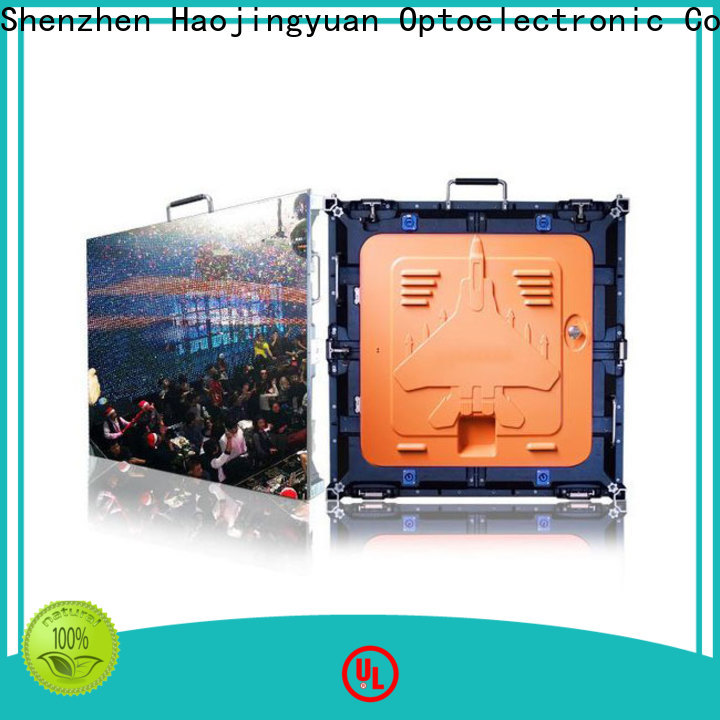 Haojingyuan Custom digital display panels Suppliers for sea port