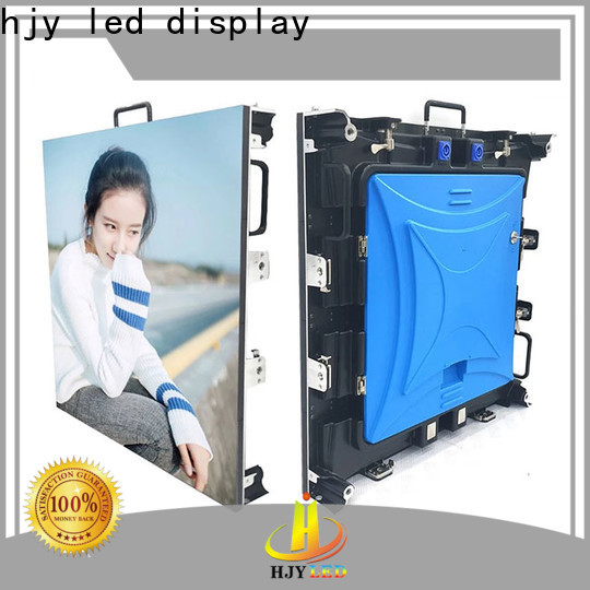 Haojingyuan Best curved led screen Suppliers for stadium