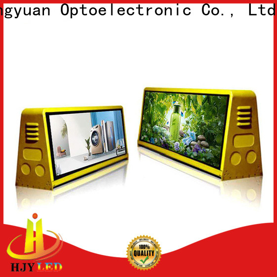 Haojingyuan mall truck mobile led display Suppliers for for house