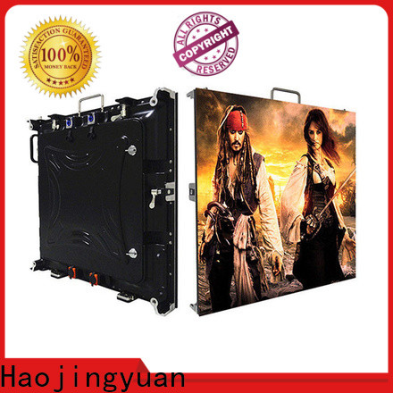 Haojingyuan New video wall led display factory for taxi