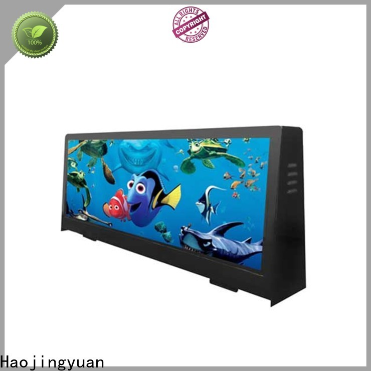 Haojingyuan sign taxi led display manufacturers for restaurant