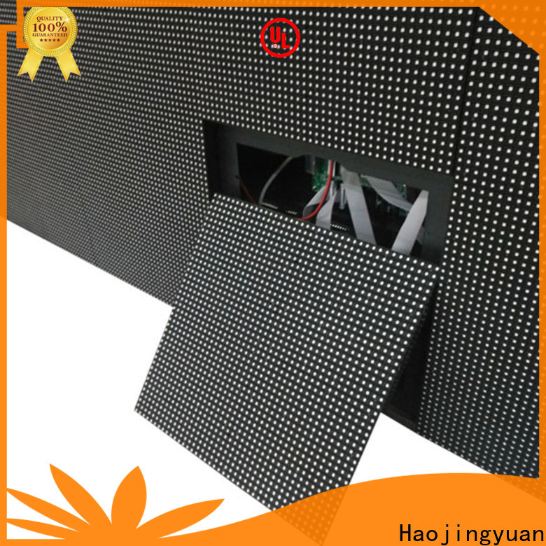 Haojingyuan display indoor led display Suppliers for lobby