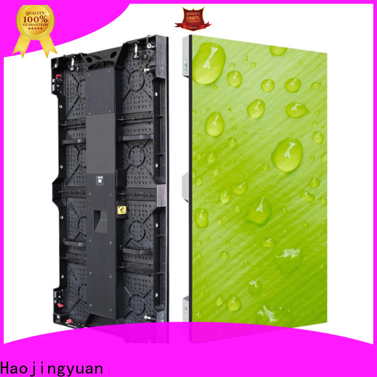 Haojingyuan outdoor stage led display manufacturers for concert