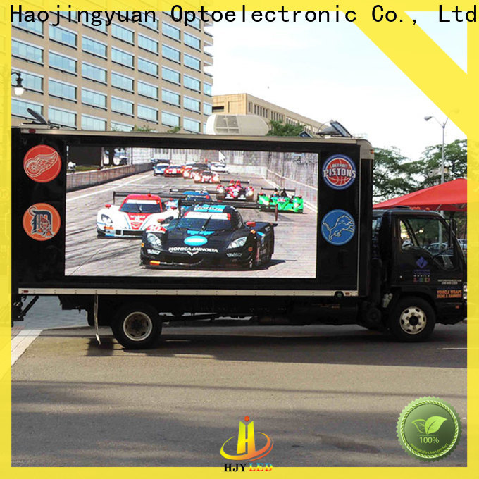 Haojingyuan Wholesale mobile led display Suppliers for for house