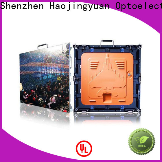 Haojingyuan concert outdoor display panels factory for sea port