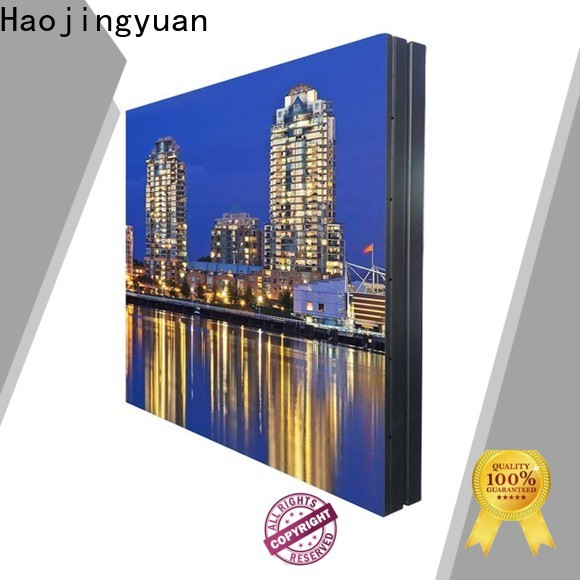 Haojingyuan New outdoor led display manufacturers for lobby