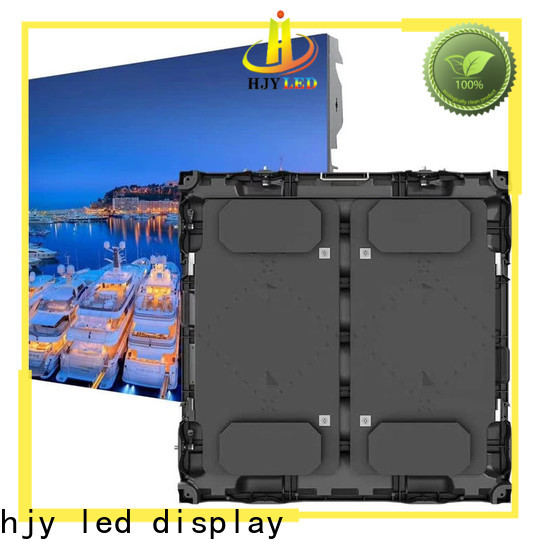 Haojingyuan High-quality stadium led display Suppliers for salon