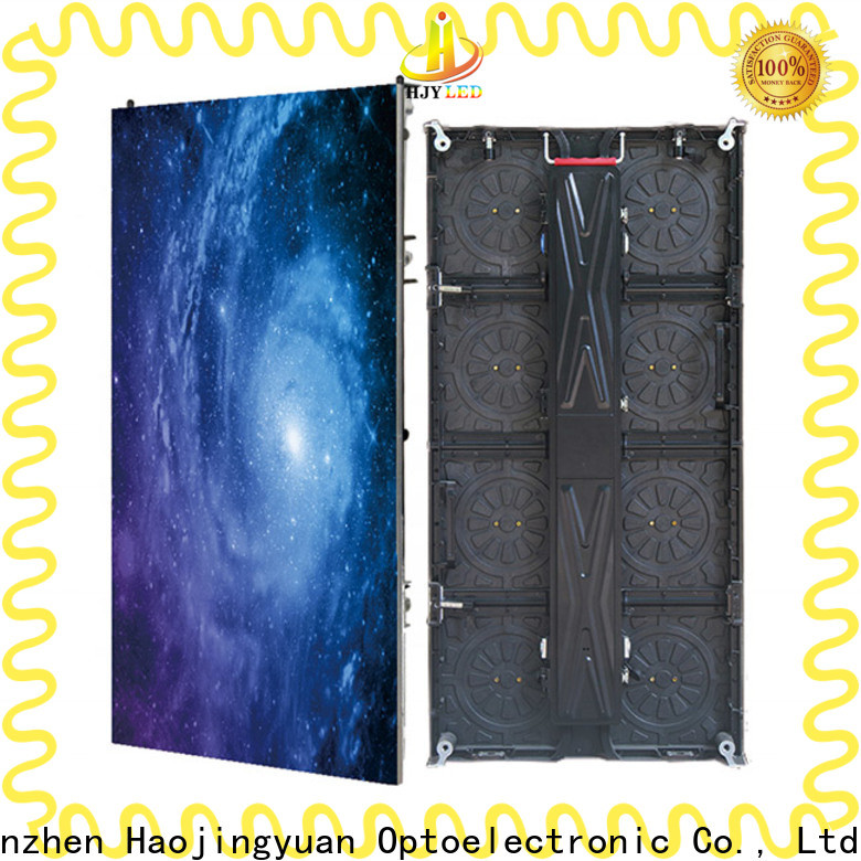 Haojingyuan indoor stage background led screen Suppliers for shopping mall