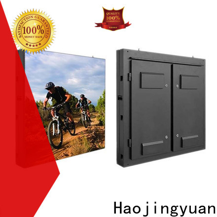Haojingyuan Latest fixed led display for business for hotels