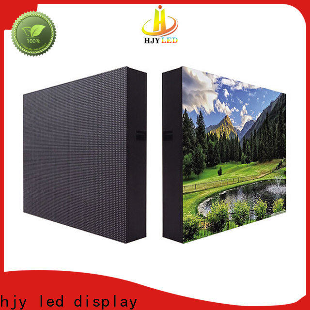 Haojingyuan Custom waterproof led display board factory for lobby