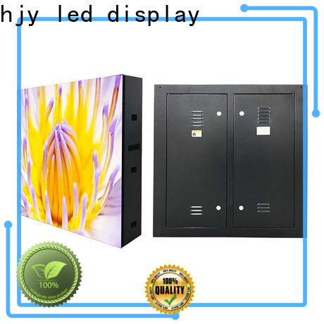 Haojingyuan module fixed led display Supply for school