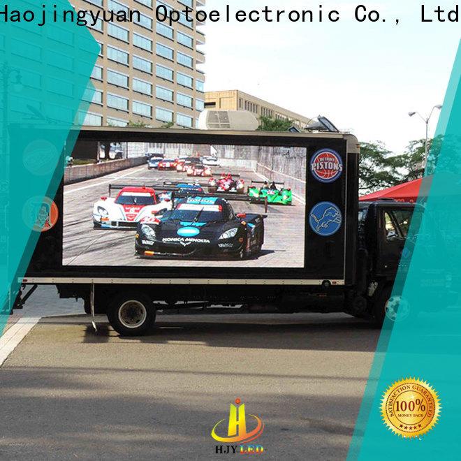Custom truck mobile led display screen for business for for house