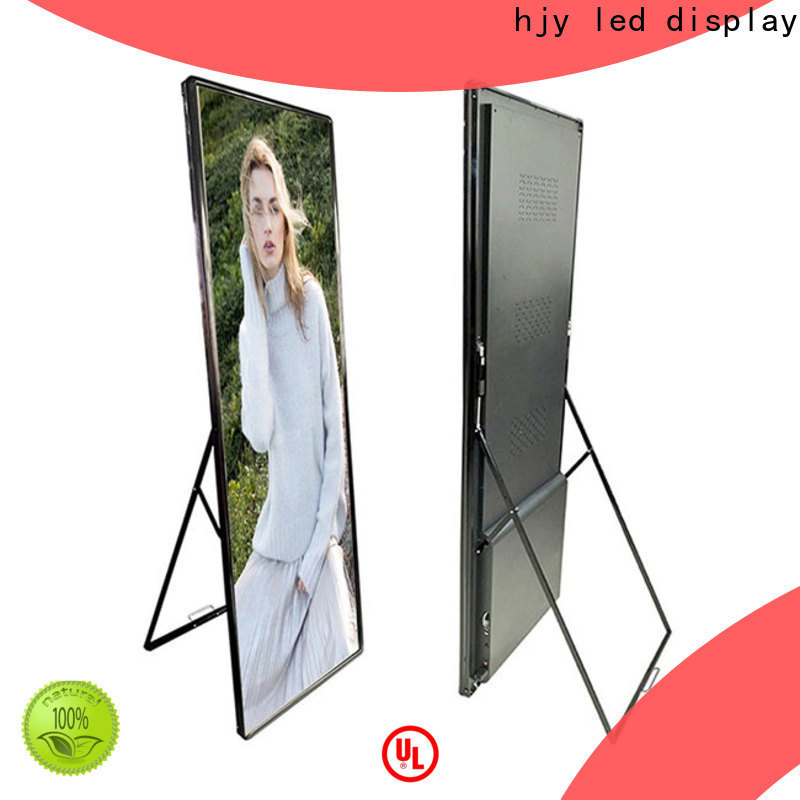 Haojingyuan Wholesale truck mobile led display Suppliers for school