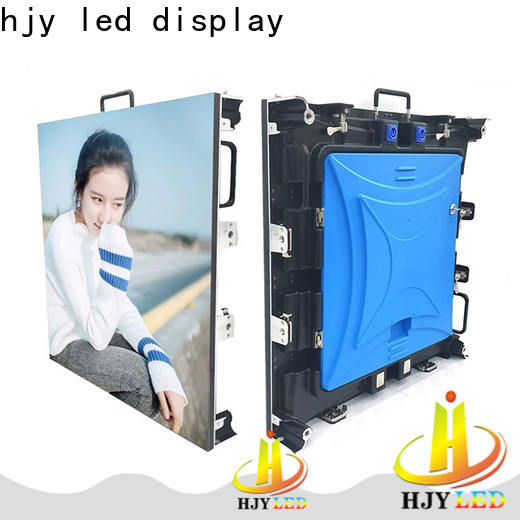 Haojingyuan Best led advertising board manufacturers for concert