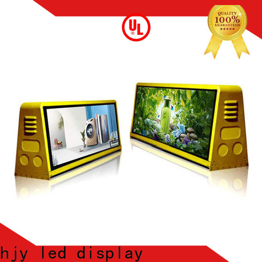 Haojingyuan Latest truck mobile led display Supply for for house