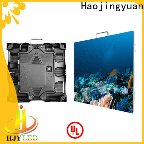 Haojingyuan video outdoor led screen display manufacturers for building