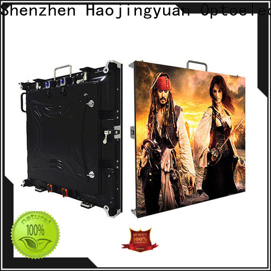 Haojingyuan Latest high definition led display Suppliers for sea port