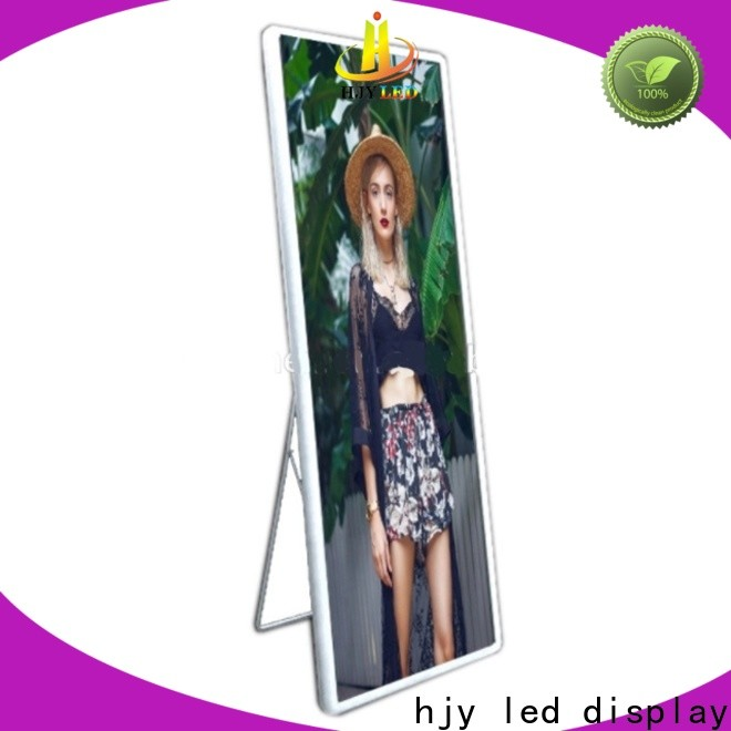 Haojingyuan Top poster led display Suppliers for street
