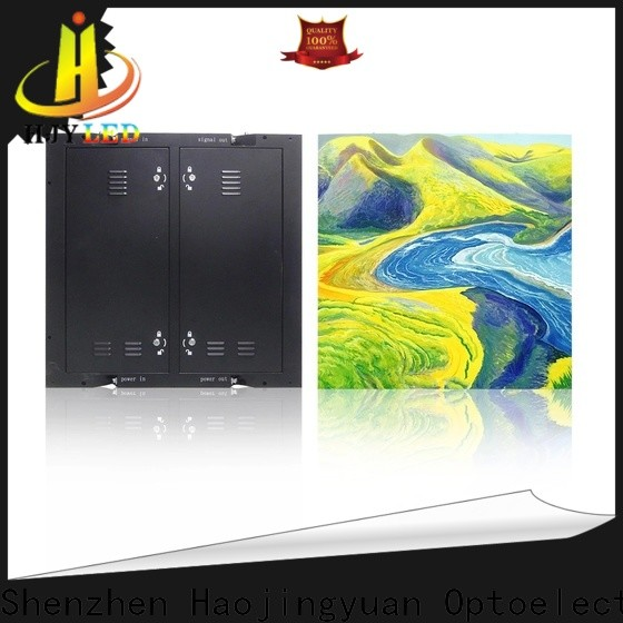 Haojingyuan High-quality outdoor fixed led display factory for hotels