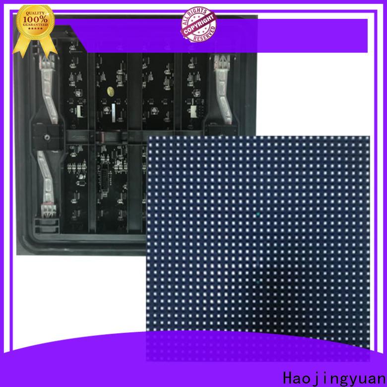Haojingyuan Custom led display module Suppliers for wall