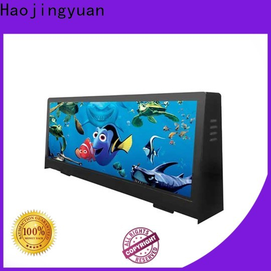 Haojingyuan High-quality taxi led display Suppliers for shopping mall
