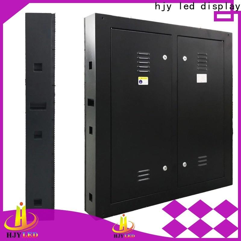 Haojingyuan fixed fixed led panel factory for hotels