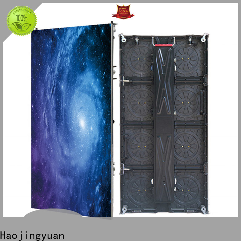 Haojingyuan outdoor stage screens for concerts company for stadium