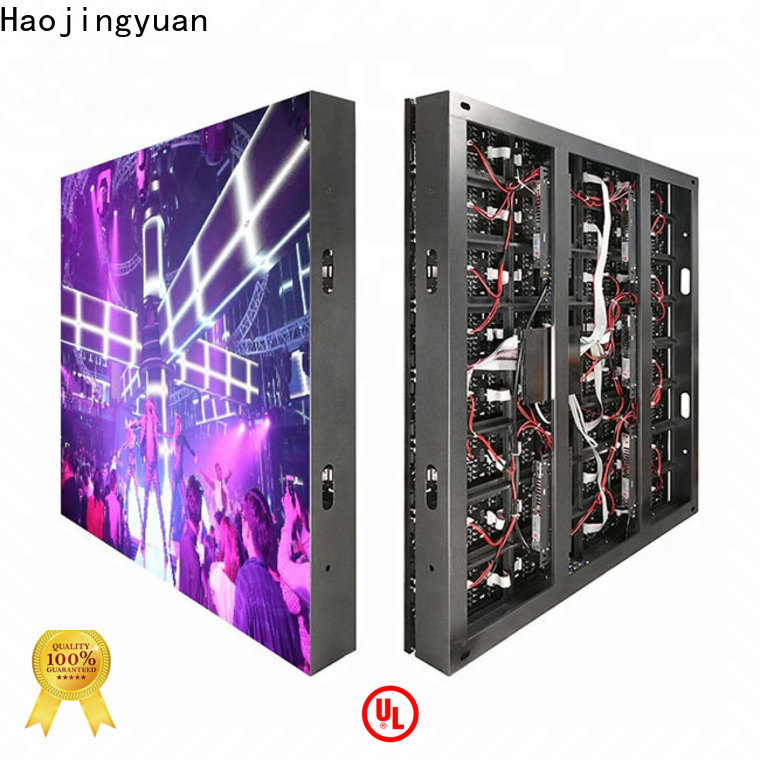 Haojingyuan display outdoor fixed led display company for school