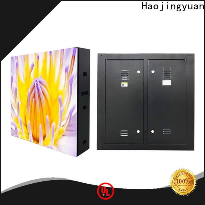 Haojingyuan Custom indoor fixed led screen Supply for hotels