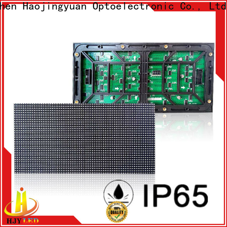 Haojingyuan display led module Suppliers for cafeteria